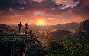 Picture Chloe Frazer, Nadine Ross, Uncharted: The Lost Legacy, Sam Drake