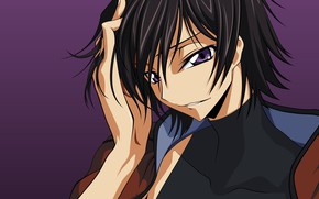 Picture look, anime, art, guy, Code Geass, Lilus