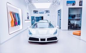 Picture car, machine, white, style, Ferrari, Ferrari, luxury, Alexunder Hess