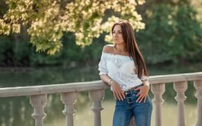Picture pretty, jeans, brunette, A Diakov George