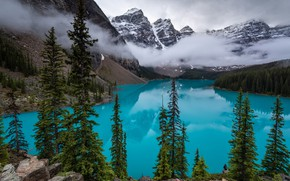 Picture Canada, Banff national Park, moraine lake