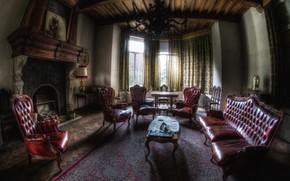 Picture design, interior, fireplace, living room, стиль Готик, Gothic interior, Gothic room decor