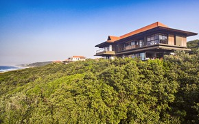 Picture greens, coast, Villa, South Africa, by Metropole Architects, Dolphin Coast Home