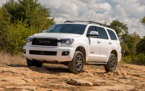 Picture auto, photo, Toyota, SUV, TRD, Pro, Sequoia, 2020