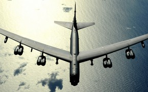 Picture Boeing, bomber, B-52, STRATO fortress