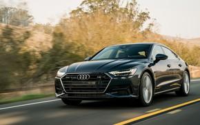 Picture road, Audi, 2019, A7 Sportback