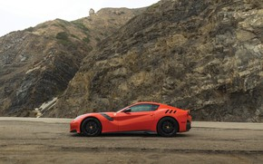 Picture Ferrari, supercar, F12, 2017, TDF