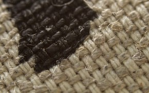 Picture macro, fabric, cotton, texture