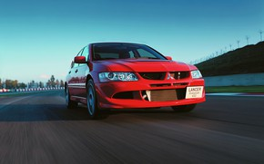 Picture Mitsubishi, track, 2003-2005, Lancer Evolution 8