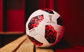 Wallpaper Russia 2018, FIFA, FIFA, World Cup 2018, The official soccer ball of world Cup 2018, ...