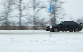Picture Snow, Black, Lancer