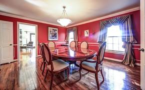Picture design, style, interior, Ontario, dining room, Stouffville, Alta Drive