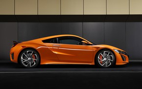 Picture Honda, side view, NSX, 2019