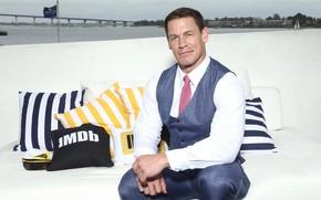 Picture look, pose, actor, wrestler, John Cena, John Cena, bodybuilder, bodybuilder