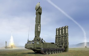 Picture Defense, Anti-aircraft missile system, AAMS AIR DEFENSE SV, Antey-300V, S-300V