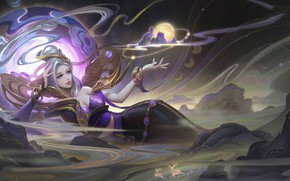 Picture Girl, Magic, The witch, Arena of Valor