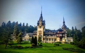 Picture castle, Romania, Peles castle