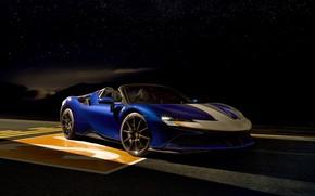 Picture Blue, Car, Ferrari SF90 Spider Assetto Fiorano