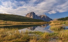 Picture mountains, Italy, Trentino-Alto Adige, The Dolomites