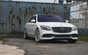 Picture Light, Mercedes, White, W222, S500, Facelift
