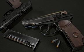 Picture gun, gun, render, Rendering, Makarov, the Makarov pistol, makarov