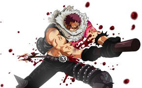 Picture blood, male, One Piece, bayonet, One Piece