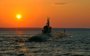 Picture boat, underwater, atomic, Prince Vladimir