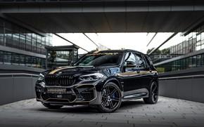 Picture machine, tuning, the building, BMW, black, front, tuning, Manhart, BMW X3, black car, casesa, Manhart …