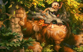 Picture League of Legends, Bigfoot, B, Willump