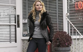 Picture look, pose, figure, Jennifer Morrison, the series, Jennifer Morrison, hair, Once upon a time, Once …