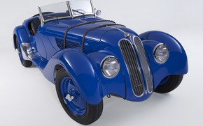 Picture Roadster, BMW, Lights, Classic, BMW 328, Chrome, Classic car, 1936, Grille, BMW 328 Roadster