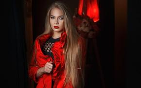 Picture look, Girl, makeup, blonde, Alexander Drobkov-Light, Lily Fingerless