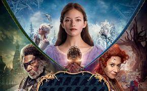 Wallpaper fantasy, poster, Morgan Freeman, Morgan Freeman, Mackenzie Foy, Mackenzie Foy, Helen Mirren, Helen Mirren, The ...