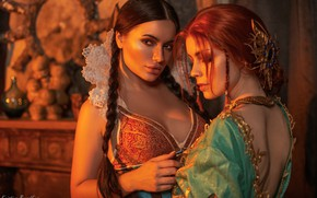 Picture The Witcher, Triss Merigold, Philip Algart, Catherine Semadeni, Kristina Borodkina, Filippa Serial Search May