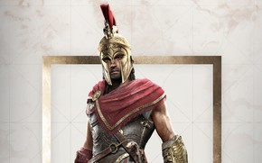 Wallpaper game, Ubisoft, Assassin's Creed, 2018, Odyssey, Assassin's Creed Odyssey, Alexios