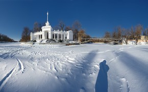 Picture Park, river, Winter, Krivoy Rog