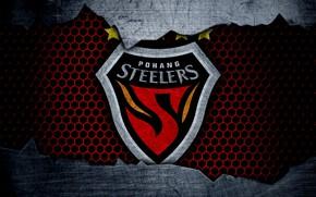 Picture wallpaper, sport, logo, football, Pohang Steelers