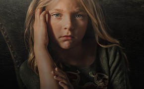 Picture look, face, portrait, hands, girl