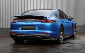 Picture Porsche, Panamera, Turbo, 2018, Ball Wed, GT Edition