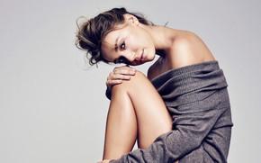 Picture look, girl, pose, background, model, legs, beauty, Alexis Ren