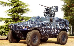 Picture Military, Weapon, Panhard, Armored car, VBL MK-2
