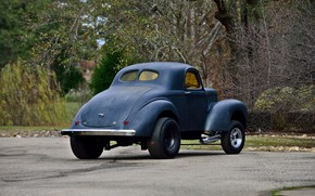 Picture Coupe, Willys, Gasser, Vehicle, American race