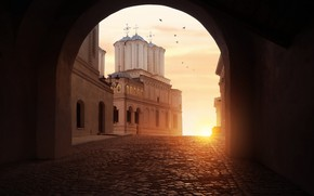 Picture Romania, Bucharest, Metropolitan Hill