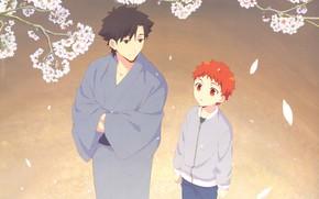 Picture boy, male, The fate of the beginning, Shiro, Fate / Zero, kiritsugu
