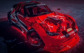 Picture Red, Auto, Machine, Tuning, Drift, Car, Auto, Render, Miata, Rendering, MX-5, Mazda MX-5, Transport & …