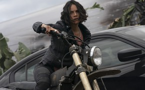 Picture pose, bike, Michelle Rodriguez, Michelle Rodriguez, The Fast and the Furious, The fast and the …