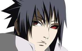 Picture look, guy, Naruto, Naruto, Sasuke Uchiha