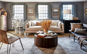 Picture design, style, room, interior, living room