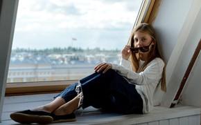 Picture girl, fashion, Elizabeth Khomenko, Photographer Maxim Laukhin