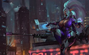 Picture Girl, The city, Weapons